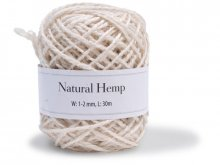 Hemp packaging twine