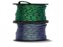 Polyester braided rope, small spool