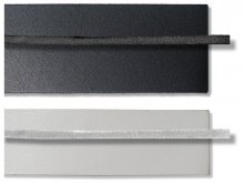 Split leather straps, coloured