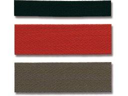 Köperband Baumwolle, farbig