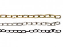 Steel watch chain, non-welded