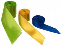 Double face satin ribbon, fine