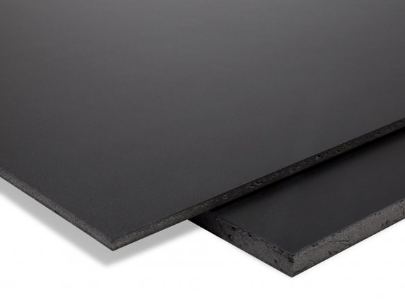 Viscom Sign Easyprint lightweight foam sheet, black