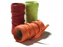 Raffia twine, coloured