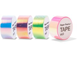 Klebeband Paper Poetry Mirror Rainbow Tape