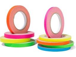 Gaffer tape, matte, neon colour set