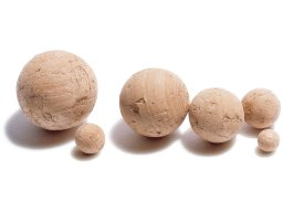Cork ball, not drilled