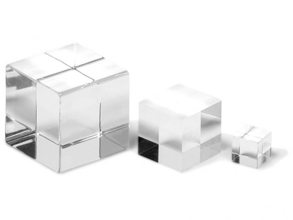 Acrylic XT glass cube, transparent