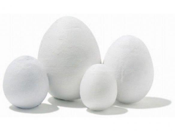 Uovo di cotone, bianco