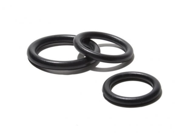 Nylon ring, black