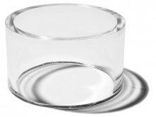 Polystyrene ring, transparent