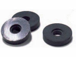 Ring magnets, hard ferrite, black