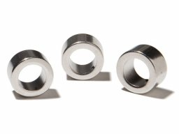 Ring magnets, neodymium, silver