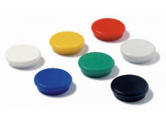 Magnete rotondo con cappuccio in plastica