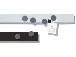 Wall rail, steel, self-adhesive