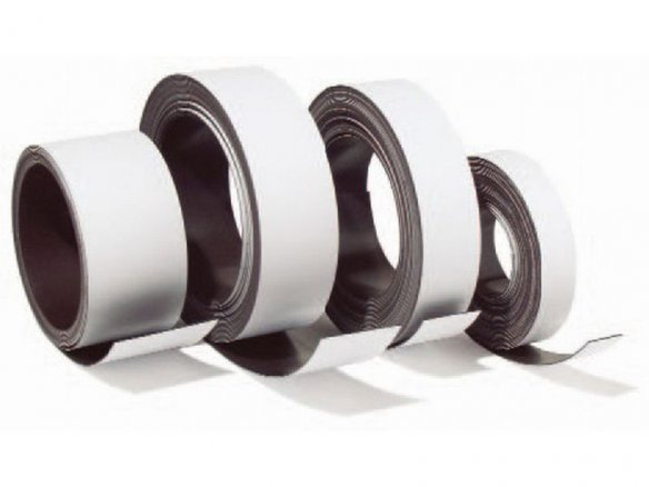 Permaflex 5014 magnetic strip, white
