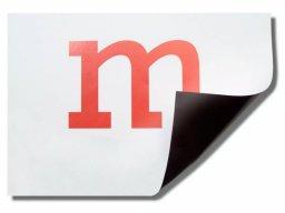Lámina magnética Permaflex, revest. papel, blanca