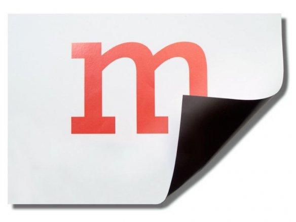Foglio magnetico Permaflex rivestito carta, bianco