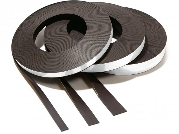 Permaflex 424 magnetic strips, self-adhesive