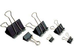 Foldback clips, black