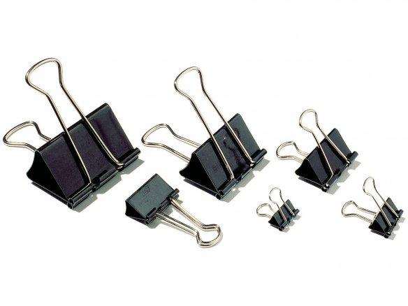 Foldback-Clips schwarz