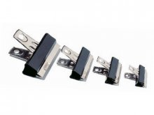 Bulldog clips, black