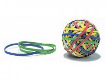 Läufer rubberband ball, Rondella