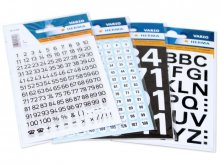 Herma adhesive letters/numbers