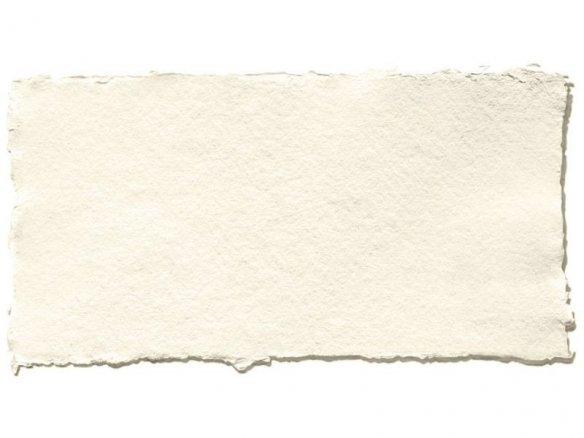 Khadi artist´s rag paper, white, matte