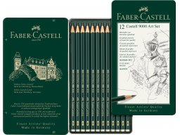 Faber-Castell 9000 graphite pencil, set