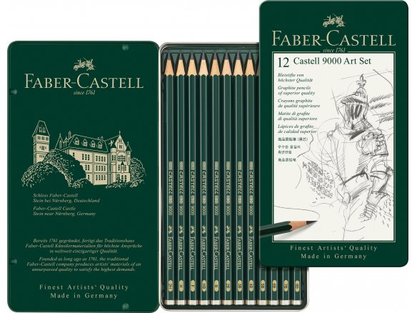 Faber Castell Castell 9000 graphite pencil, set