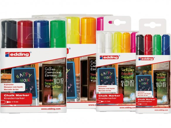 Edding chalk marker set