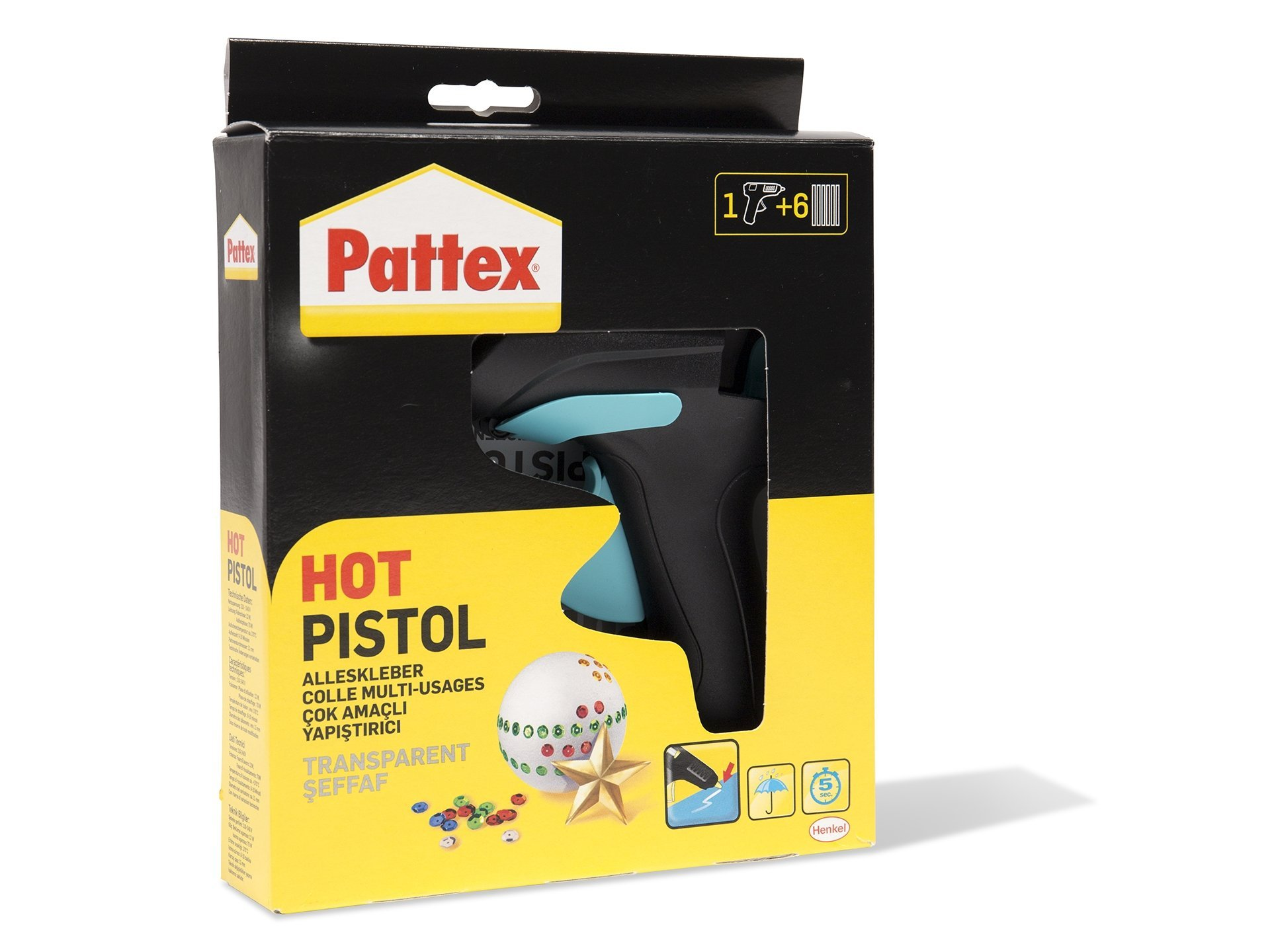 pattex hobby hot pistol hei klebepistole kaufen modulor. Black Bedroom Furniture Sets. Home Design Ideas