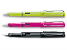 Lamy fountain pen, safari