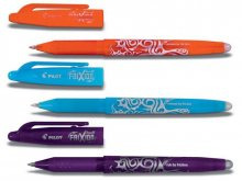 Pilot Frixion ball erasable gel pen