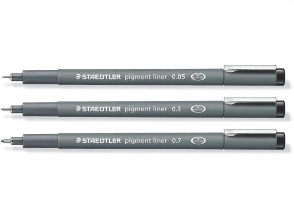 Staedtler Pigment Liner, resistente a la luz