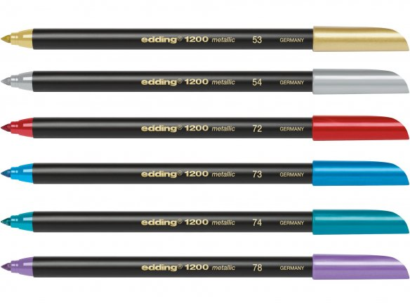 Edding 1200 Metallic Color Pen