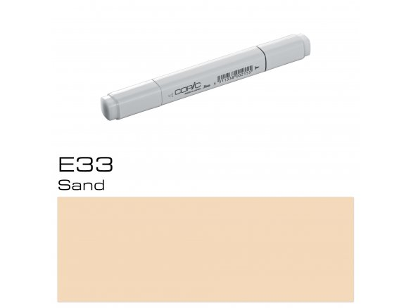 Copic Marker E33 sand Layoutmarker