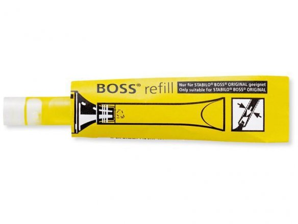 Stabilo Boss Original highlighter refill ink tube