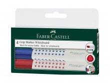 Rotulador para pizarra blanca Faber-Castell Grip
