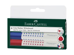 Pennarello per lavagne bianche Faber Castell Grip