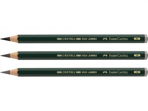 Faber Castell 9000 Jumbo pencil