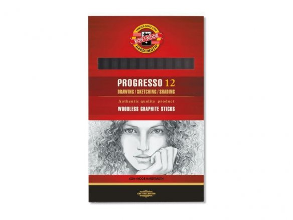 Koh-i-Noor Progresso 8911 pure graphite pencil