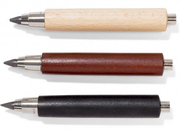 Portaminas corto, de madera