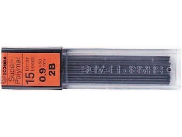 Ecobra mechanical pencil lead, Super-Hi polymer