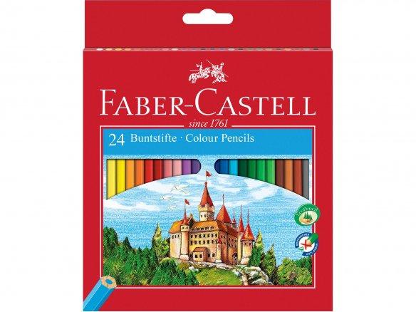 Matita colorata Faber-Castell Castle