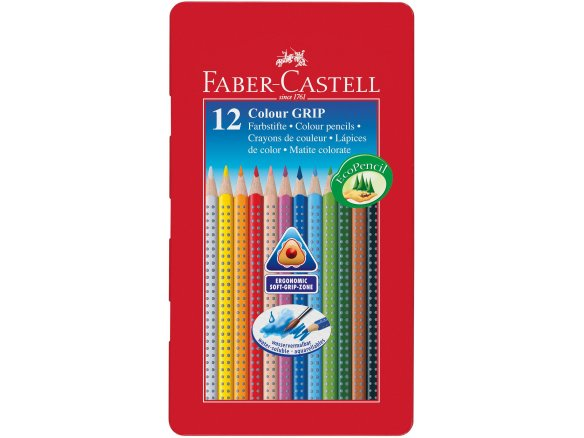 Lápiz de color Faber-Castell Colour Grip