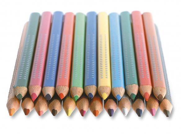 Faber Castell Jumbo Grip coloured pencil