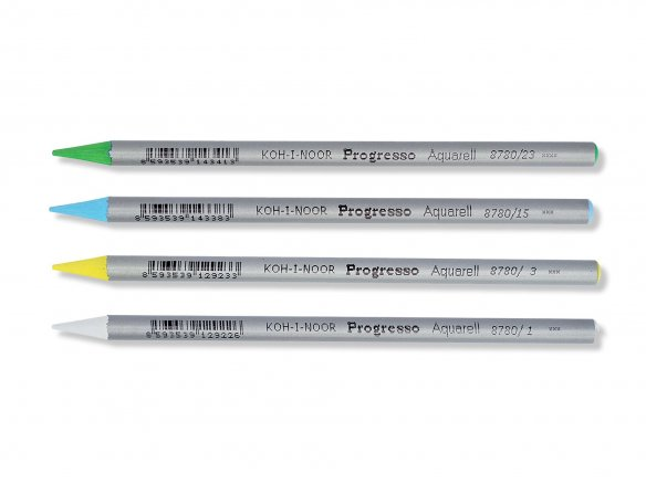 Koh-i-Noor Progresso aquarelle pastel pencil 8780