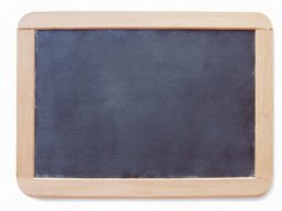 Chalkboard with wooden frame